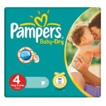 Pack de 44 Couches Pampers Baby Dry sur layota