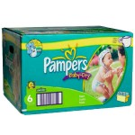 Pack 198 Couches de Pampers Baby Dry sur layota