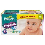 Maxi Pack 280 Couches de Pampers Active Fit sur layota