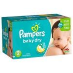 Pack économique de 252 Couches de Pampers Baby Dry sur layota