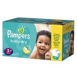 Pack 68 Couches de Pampers Baby Dry sur layota
