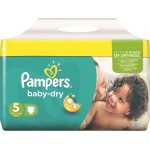 Pack de 180 Couches Pampers de Baby Dry sur layota