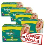 680 Couches Pampers Baby Dry taille 3+