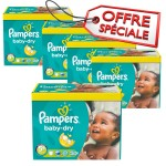 731 Couches Pampers Baby Dry taille 5+