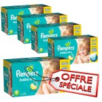 627 Couches Pampers Baby Dry sur layota