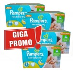 Maxi pack jumeaux de 952 Couches de Pampers New Baby Dry sur layota