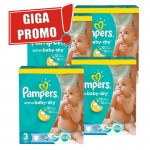 814 Couches Pampers Active Baby Dry taille 3