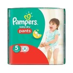 21 Couches Pampers Active Baby Dry taille 5