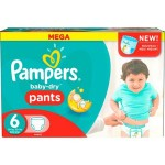 190 Couches Pampers Active Baby Dry taille 6