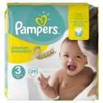 29 Couches Pampers Premium Protection taille 3