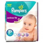 Pack de 70 Couches de Pampers Active Fit sur layota