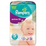 92 Couches Pampers Active Fit taille 5