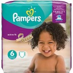 Pack de 31 Couches Pampers d'Active Fit sur layota