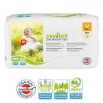 Pquet de 28 Couches bio écologiques de Swilet New Baby Dry sur layota