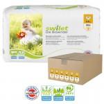 Giga pack de 168 Couches bio écologiques Swilet sur layota