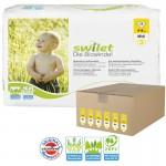 Maxi Giga pack 168 Couches bio écologiques Swilet sur layota