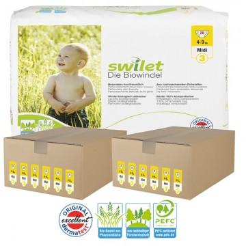 336 Couches bio écologiques Swilet taille 3