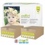 Maxi Giga pack de 336 Couches bio écologiques Swilet sur layota