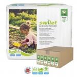 Maxi Giga pack 336 Couches bio écologiques de Swilet sur layota