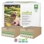 Giga pack 164 Couches bio écologiques Swilet sur layota