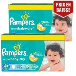 Maxi Giga Pack de 162 Couches de Pampers Active Baby Dry sur layota