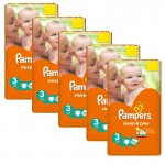 pack 112 Couches Pampers Sleep & Play sur layota