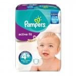 94 Couches Pampers Active Fit taille 4+