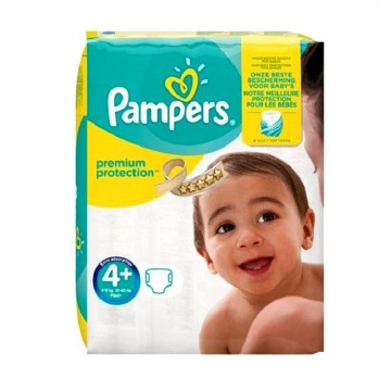 77 Couches Pampers Pampers Premium Protection Taille 4 En Solde Sur
