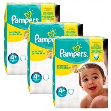 231 Couches Pampers Pampers Premium Protection Taille 4 Moins Cher