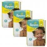 204 Couches Pampers Premium Protection - New Baby taille 5