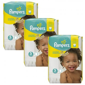 204 Couches Pampers Pampers Premium Protection Taille 5 Pas Cher Sur