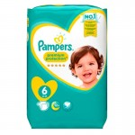 120 Couches Pampers Premium Protection - New Baby taille 6