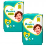 240 Couches Pampers Premium Protection - New Baby taille 6