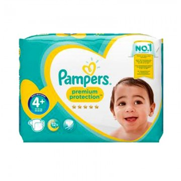62 Couches Pampers Pampers Premium Protection Taille 4 Pas Cher Sur