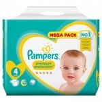 39 Couches Pampers New Baby - Premium Protection taille 4