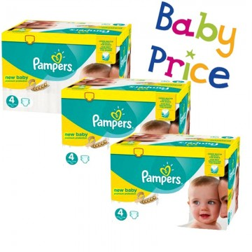 320 Couches Pampers Pampers New Baby Taille 4 Pas Cher Sur Layota