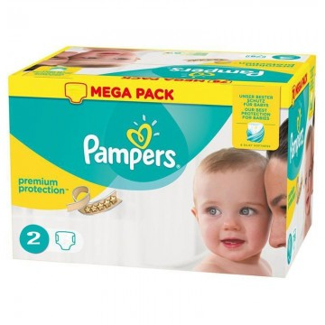 240 Couches Pampers Pampers New Baby Taille 2 En Solde Sur Cou Ches