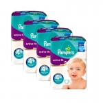 248 Couches Pampers Active Fit taille 4+