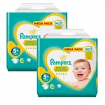 Maxi Giga Pack 270 couches Pampers New Baby Premium Protection