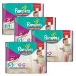 Maxi Giga Pack 330 couches Pampers Active Fit