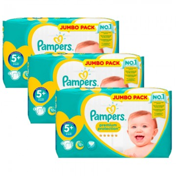 135 Couches Pampers Pampers New Baby Taille 5 Pas Cher Sur Cou Ches