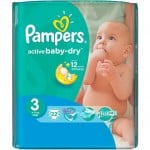 Pack  22 Couches Active Baby Dry