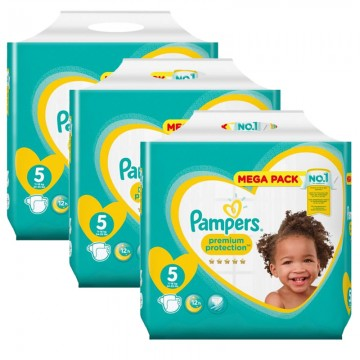 210 Couches Pampers Pampers New Baby Taille 5 Pas Cher Sur Layota