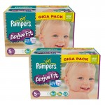 235 Couches Pampers Active Fit taille 5