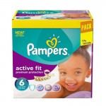 Pack 120 Couches Pampers Active Fit Premiun Protection