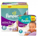 Maxi Pack 288 Couches Pampers Active Fit Premium Protection