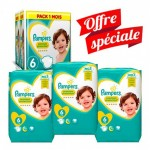 Giga Pack 168 couches Pampers New Baby Premium Protection