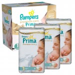 330 Couches Pampers Premium Care - Prima taille 1