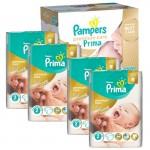 Mega Pack 440 couches Pampers Premium Care Prima