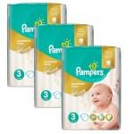 Giga Pack 180 Couches Pampers Premium Care Prima